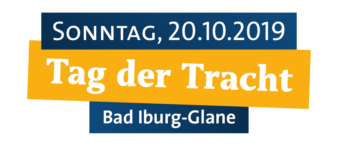 Logo: Tag der Tracht, 20.10.2019 in Bad Iburg-Glane